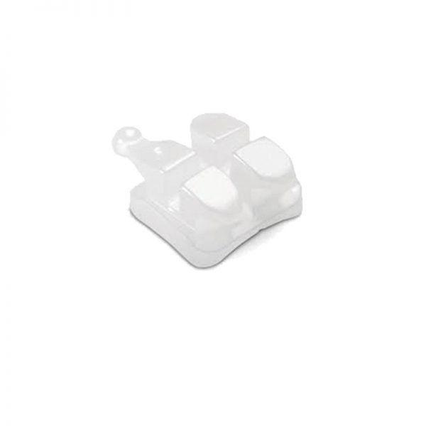 Bracket Ceramico para tratamientos de Ortodoncia Leone