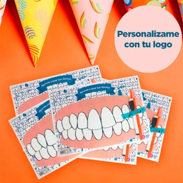 Kit Lavadientes Personalizable (50 unidades)