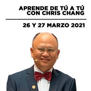 Fórmate con Chris Chang