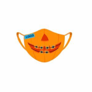Mascarillas Halloween Tejido Personalizables (100 unidades)