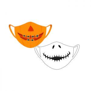 Mascarillas Halloween Tejido no Personalizables (50 unidades)